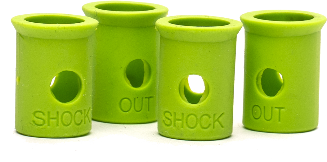 shockout green close up